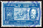 Postage stamp Venezuela 1959 Don Jacinto Gutierrez — Stock Photo
