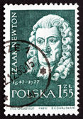 Postage stamp Poland 1959 Isaac Newton, English Scientist — Stockfoto