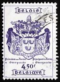 Postage stamp Belgium 1977 Coat of Arms — Stock Photo