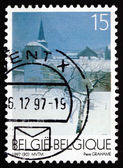 Postage stamp Belgium 1997 Fairon, by Pierre Grahame — Stock Photo