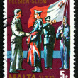 Postage stamp Malta 1977 Changing of Colors — Stock Photo