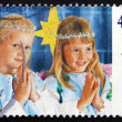 Stock Photo: Postage stamp Australi1997 Children in Christmas Nativity Page