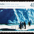 Postage stamp Australia 1990 Glaciology, Antarctic Research — Stock Photo