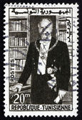 Postzegel Tunesië 1960 habib bourguiba, staatsman — Stockfoto