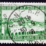 Постер, плакат: Postage stamp Algeria 1936 View of Ghardaia City