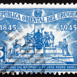 Postage stamp Uruguay 1945 Jose Pedro Varela, Author — Stock Photo