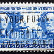 Stock Photo: Postage stamp USA 1949 George Washington and Robert E. Lee