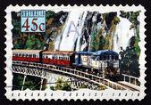 Postage stamp Australia 1993 Kuranda Tourist Train, Train — Foto de Stock