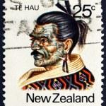 Postage stamp New Zealand 1980 Te Hau Takiri Wharepapa, Maori Le — Stock Photo #37064889