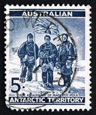 Postage stamp Australia 1961 South Pole Expedition — Stock Photo