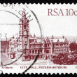 Postage stamp South Africa 1983 City Hall, Pietermaritzburg — Stock Photo #37131231