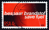 Postage stamp South Africa 1979 Fuel Economy — Stock Photo