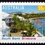 Postage stamp Australia 2008 South Bank, Brisbane — Stock Photo #37242181