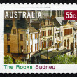 Postage stamp Australia 2008 The Rocks, Sydney — Stock Photo