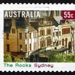 Postage stamp Australia 2008 The Rocks, Sydney — Stock Photo #37242243