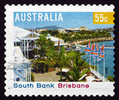 Postage stamp Australia 2008 South Bank, Brisbane — Stock Photo