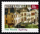 Postage stamp Australia 2008 The Rocks, Sydney — Stock Photo