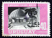Postage stamp Uruguay 1967 Montevideo Planetarium — Stock Photo