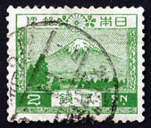 Postage stamp Japan 1926 View of Mt. Fuji — ストック写真