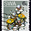 Stock Photo: Postage stamp South West Afric1973 Stone Plant, Succulent Plan