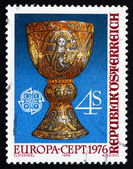 Postage stamp Austria 1976 Tassilo Cup, Kremsmunster — Stock Photo