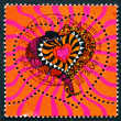 Postage stamp France 2000 Snakes, Heart — ストック写真 #37714887