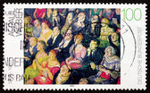 Postage stamp Germany 1993 Audience, by Andreas Paul Weber — Stock Photo