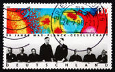 Postage stamp Germany 1998 Max Planck Society — Stock Photo