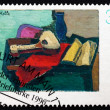 Postage stamp Germany 1996 Still Life, by Helmut Kolle — Stock Photo