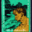 Stock Photo: Postage stamp GDR 1965 Dr. Albert Schweitzer