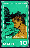 Postage stamp GDR 1965 Dr. Albert Schweitzer — Stock Photo
