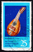 Postage stamp GDR 1971 Mandolin, Italy — Stock Photo