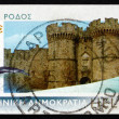 Postage stamp Greece 2006 Palace of the Grand Master, Rhodes — Stock Photo #37817775