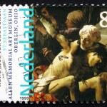 ������, ������: Postage stamp Netherlands 1999 St Sebastian by Hendrick Ter Br