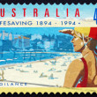 Stock Photo: Postage stamp Australi1994 Vigilance