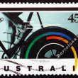 Stock Photo: Postage stamp Australi1992 Bicycling