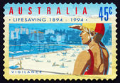 Postage stamp Australia 1994 Vigilance — Stock Photo