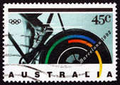 Postage stamp Australia 1992 Bicycling — Stock Photo