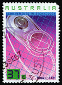 Postage stamp Australia 1987 Bionic Ear, Technology — Stock Photo