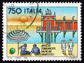 Postage stamp Italy 1992 Viareggio, Beach Resort — Stock Photo