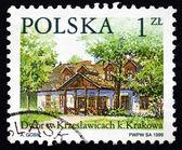 Postage stamp Poland 1999 Krzeslawicach, Country Estate, Krakow — Stock Photo