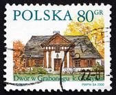 Postage stamp Poland 2000 Grabonog, Country Estate, Piaski — Fotografia Stock