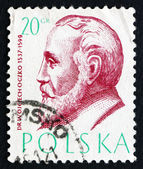 Postage stamp Poland 1957 Wojciech Oczko, Philosopher and Physic — Stock Photo
