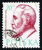 Postage stamp Poland 1957 Wojciech Oczko, Philosopher and Physic — Stock Photo