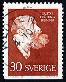Postage stamp Sweden 1960 Gustaf Froding, Poet and Writer — Stock Photo