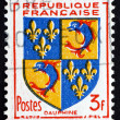 Postage stamp France 1953 Arms of Dauphine — Stock Photo #38092473