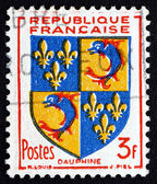Postage stamp France 1953 Arms of Dauphine — Stock Photo