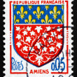 Postage stamp France 1962 Arms of Amiens — Stock Photo #38151755