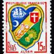 Stock Photo: Postage stamp France 1959 Arms of Algiers