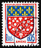 Postage stamp France 1962 Arms of Amiens — Stock Photo